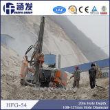 Abajo del aparejo de taladro del orificio Hfg-54 para la voladura de la minería aurífera