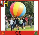 Juego inflable del deporte de la bola gigante colorida para la venta