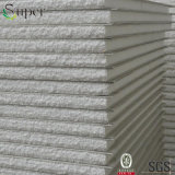 Scheda grigia bianca del pannello a sandwich dell'isolamento termico ENV/polistirene espanso per la parete