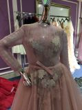 Платье линии/вечера Princess Длинн Втулки для венчания