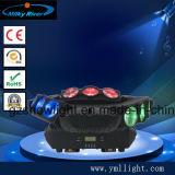 6PCS*12W 4in1 RGBW CREE widerliches bewegliches Hauptverdoppelunglicht des Punkt-LED