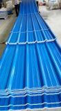 Hoja plástica impermeable del material para techos para la fábrica