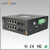 Acceso eléctrico 8 e interruptor industrial manejado Fx de Ethernet 4