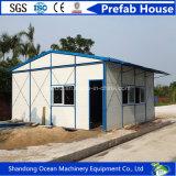 Da casa Prefab pré-fabricada clara da casa do frame de aço da personalização casa modular para a acomodação no local de mineração