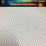 Tela de matéria têxtil tecida listra do poliéster para o forro do terno (S161.163)