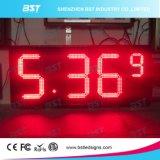 Changeur de prix de gaz à LED imperméable à l'extérieur pour station-service (rouge / jaune / vert / blanc)