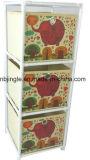 非装飾的な引出しの収納用の箱3つの層の編まれるGsa6007