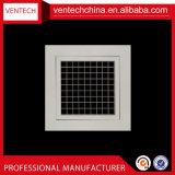 Caisse amovible en aluminium Gille d'oeufs de ventilation de climatisation