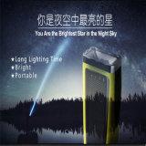 Tocha/lanterna elétrica Emergency de acampamento solares portáteis para a HOME, ao ar livre