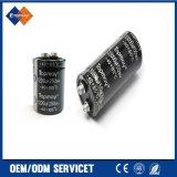 condensador electrolítico de aluminio 85c de la terminal de tornillo de la tolerancia de 22000UF 16V 35*50 el 20%