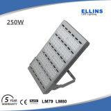 Luz de inundación del alto brillo 200W LED al aire libre con precio de fábrica
