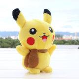Jouet de Pikachu de peluche bourré par personnage de dessin animé en gros