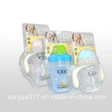 Haustier-freier milchiger Flaschen-Blasen-Kasten