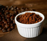 直接工場価格のプライベートラベルのブラックコーヒーの粉