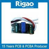 Fuente de alimentación del conductor del LED con el circuito convencional del transformador del step-down para la luz del panel del LED