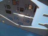 Witte Soldermask 1.6mm PCB van Thick HASL in PLC Control