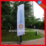 Klima-Polyester-Fliegen-Strand-Markierungsfahnen-Fahne
