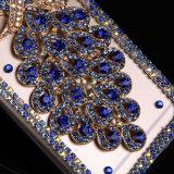 Роскошное аргументы за iPhone/Sumsung мобильного телефона павлина диаманта