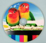 Impression automatique colorée 50PCS de Multil par imprimante CD de disque DVD de temps