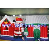 Дом Igloo рождества раздувная/самая популярная раздувная дом рождества