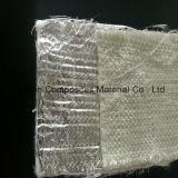 Couverture de pointeau de fibre de verre pour Filt ou isolation, couvre-tapis de cardage de fibre de verre, feutre de fibre de verre de silice, avec le clinquant d'Alu