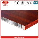 Holz-/Marmorkorn-Aluminiumfassadenelemente für Trennwand