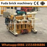 Qt40-3A het Hydraulische Blok die van het Cement van de Cilinder Concrete Holle Machine vormen