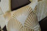 Almohadilla decorativa del terciopelo de la manera del amortiguador del bordado (EDM0313)