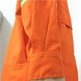 De gebreide TextielIngenieur Workwear van de Industrie van de Stof Materiële met Zak en Ritssluiting