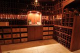 Шкаф вина села типа Stactable шкафа хранения винного погреб погреба классицистический