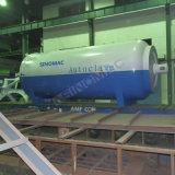 autoclave di laminazione di vetro approvata di 2650X5000mm ASME PVB (SN-BGF2650)