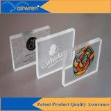 Impresora ULTRAVIOLETA plana de la impresora de la tarjeta del PVC para el vidrio de cerámica