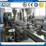 (Co-Rotation) machine en plastique d'extrusion de granule de Jumeau-Vis parallèle/tissu en nylon en plastique faisant la machine de la double boudineuse à vis