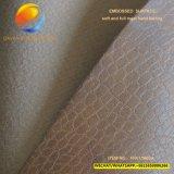 Verkaufendes synthetisches Spitzenleder des Beutels mit geprägter Oberfläche Fpa17m02A