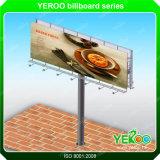 Estrada forte da bandeira do cabo flexível da construção de aço que anuncia o quadro de avisos ao ar livre