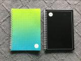 Cuaderno espiral de la cubierta de los PP