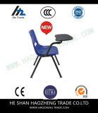 오른손잡이 Hzpc063는 정제 팔 파란 인간 환경 공학 쉘 플라스틱 의자를 튀긴다 위로
