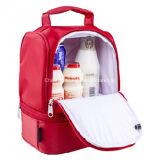 Sacchetto isolato portatile di picnic della spalla del pranzo della casella di nylon del dispositivo di raffreddamento