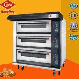 Elektrischer Ofen des Handelsdes bäckerei-Geräten-3 Tellersegment-Deck/9 mit Draht-Heizung
