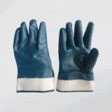 Перчатка нитрила вкладыша блокировки нитрила польностью покрынная (5001)