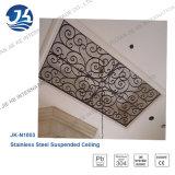 Acier inoxydable &#160 ; Médaillons antirouille de plafond de couleur en bronze