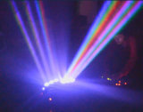 6回転LEDのビーム軽い段階の照明によってDJはディスコの結婚式の照明がパーティを楽しむ