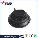 '' viga alta-baja de la linterna del LED 7 con el anillo del halo para el Wrangler Tj Jk del jeep
