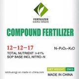 유기 화학 비료 Nitrogen+Phosphorus+Potassium NPK 12-12-17