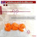 부활절 작은 색깔 로즈 사랑스러운 부활절 색깔 로즈 모조 보석 (P3042)