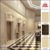 Piedra de mármol de alta calidad esmaltada azulejos de piso de porcelana pulida (vrp69m003)