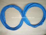 Голубые колцеобразные уплотнения Fvmq фторсиликонового каучука
