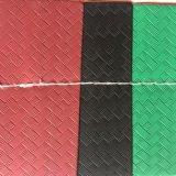 Синтетическая сплетенная кожа PU конструкции для пяток сандалии ботинок