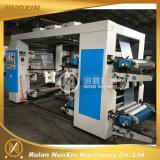 4 Farben-Stapel-Typ flexographische Drucken-Maschine