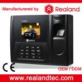 Sistemi di registrazione di presenza di tempo della scheda dell'impronta digitale di Realand